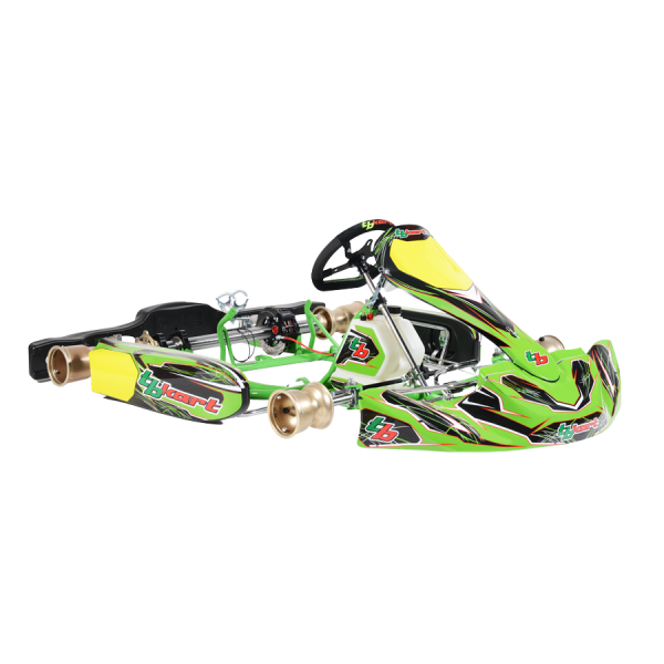 Karts designed to race: maximum performances and reliability. Just for drivers willing to win.